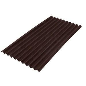 Ондулин коричневый